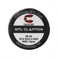 rezistenta Ni80 MTL Clapton 0.92Ω