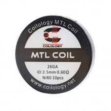 rezistenta Ni80 MTL 0.6Ω