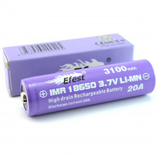 Efest 18650 3100mAh purple