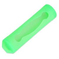 husa 18650, silicon verde