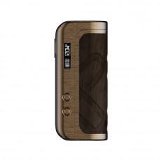 mod Foxy One copper wood pattern leather