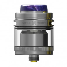 atomizor Profile M RTA argintiu
